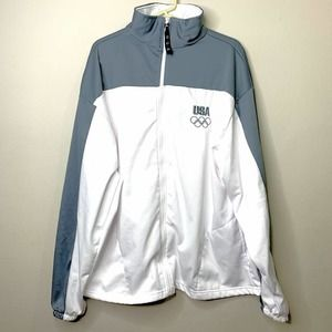 United States Olympic Committee Zip Warm Up Jacket